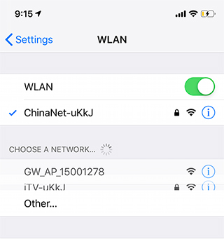 How to setup Yoosee Wi-Fi camera by AP network mode?